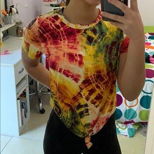 Love J tye dye T shirt size medium
